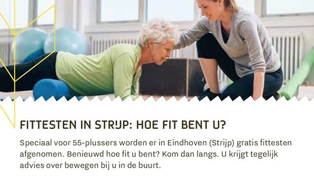 Fittesten in Strijp: Hoe fit bent u?